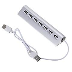 billige USB Hubs & Kontakter-7 USB Hub USB 2.0 USB 2.0 Ultra Slim / OTG Data Hub