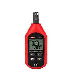 tanie Instrumenty elektryczne-uni-t ut333 cyfrowy wyświetlacz domowy miernik temperatury i wilgotności higrometr wewnętrzny i zewnętrzny termometr