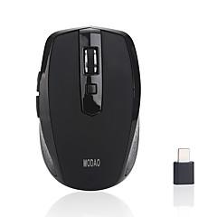 billiga Möss-MODAO Trådlös 2.4G kontor Mus / Tyst Mus Optical E27 6 pcs nycklar LED-lampa 3 justerbara DPI-nivåer 2 programmerbara tangenter 800/1200/1600 dpi