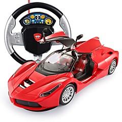 baratos Carros Controle Remoto-Carro com CR FLL-2 5 Canais 2.4G Carro / Drift Car 1:14 Electrico Não Escovado 15 km/h Controle Remoto