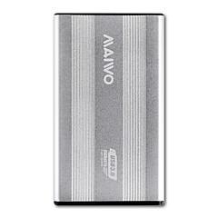 tanie Obudowy na dysk twardy-MAIWO Obudowa dysku twardego Stop aluminium USB 3.0 K2501银色