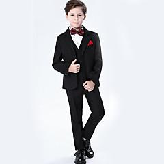 billige Tøjsæt til drenge-Børn Drenge Basale Ensfarvet Langærmet Tøjsæt