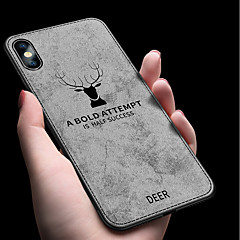 billige Telefoner og nettbrett-Etui Til Apple iPhone XR / iPhone XS Max Støtsikker / Ultratynn Bakdeksel Ensfarget Myk TPU til iPhone XS / iPhone XR / iPhone XS Max