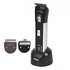 billige Barbering og hårfjerning-Kemei Hair Trimmers til Damer og Herrer 220 V / 230 V Vannavvisende / Lav lyd / Vaskbar