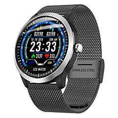 tanie Inteligentne zegarki-Inteligentne Bransoletka N58 pro na Android iOS Bluetooth Sport Wodoodporny Pulsometry Pomiar ciśnienia krwi Ekran dotykowy Stoper Krokomierz Powiadamianie o połączeniu telefonicznym Rejestrator snu