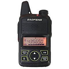 billige Walkie-talkies-baofeng® bf-t1 walkie talkie håndholdt 3km-5km 20 1 w toveis radio