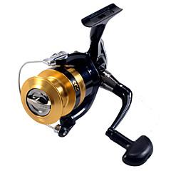billiga Fiskerullar-Fiskerullar Snurrande hjul 5.3:1 Växlingsförhållande+6 Kullager Hand Orientering utbytbar Sjöfiske / Drag-fiske