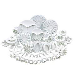 billige Bakeredskap-Bakeware verktøy Plast Multifunksjonell Søtt 3D-tegneseriefigur Kake Til Småkake Multifunktion Kakekuttere 33
