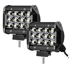 cheap Vehicle Working Light-1 Pair 3.8 Inch 36W 4WD 4X4 SUV ATV LED Work Light