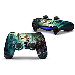tanie PS4: akcesoria-PS4 Controller Naklejka Na Wii U , Śłodkie Naklejka Polichlorek winylu 1 pcs jednostka