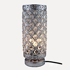 billiga Dekorativ belysning-kristall / Modern Ögonskydd Skrivbordslampa Till Sovrum / Studierum / Kontor Metall 110-120V / 220-240V