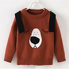 billige Sweaters og cardigans til drenge-Baby Drenge Ensfarvet / Geometrisk Langærmet Trøje og cardigan