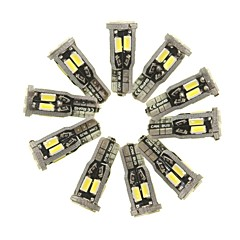 billige Interiørlamper til bil-SENCART 10pcs T10 Bil Elpærer 5 W SMD 5630 800 lm 10 LED interiør Lights Til General motors Alle år