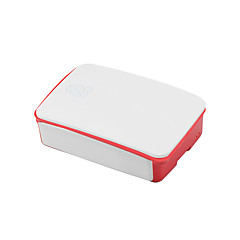 cheap -Dedicated Enclosure Box for Raspberry Pi 3B Generation 2 ABS Material 26*96*71mm White-Red