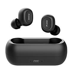 billiga Headsets och hörlurar-QCY ORP29 I öra Trådlös Hörlurar Hörlurar Acryic / Polyester Sport & Fitness Hörlur mikrofon / Med laddningsbox / Bekväm headset