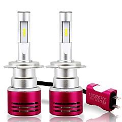 billige Frontlykter til bil-SO.K 2pcs H13 / H16 / 9004 Bil Elpærer 60 W Integrert LED 16800 lm 6 LED Hodelykt Til Alle år