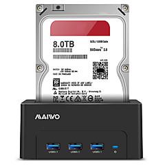 baratos Capas para Disco Rígido-MAIWO Gabinete do disco rígido Resina ABS USB 3.0 K308H