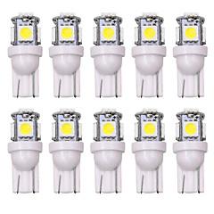 billige Interiørlamper til bil-SO.K 10pcs T10 Bil Elpærer 5 W 160 lm LED interiør Lights