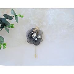 billige Motebrosjer-Dame Retro Nåler - Brosje Vin / Lyseblå / Lys Rosa Til Bryllup / Seremoni