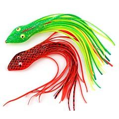 billiga Fiskbeten och flugor-5 pcs Fiskbete Mjukt bete pvc Lätt att använda Sjöfiske / Flugfiske / Kastfiske