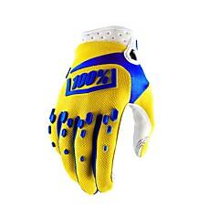baratos Luvas de Motociclista-Dedo Total Homens Motos luvas Fibra de Nailom Respirável / Anti-desgaste / Protecção
