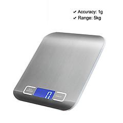tanie Wagi-5kg/1g Wyskoka rodzielczość Elektroniczna waga kuchenna Życie domowe