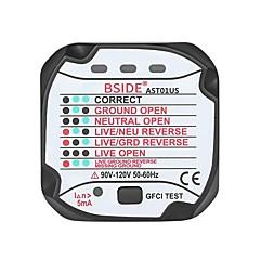 tanie Instrumenty elektryczne-bside ast01 gniazdo gniazdko tester obwód polaryzacja wykrywacz napięcia wyłącznik ścienny finder - wtyczka nas