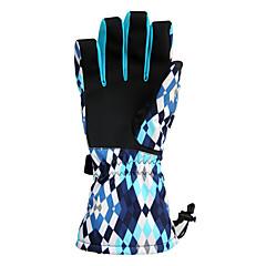 baratos Luvas de Motociclista-Dedo Total Unisexo Motos luvas Pele Manter Quente / Anti-desgaste / Protecção