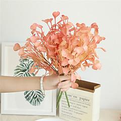 billige Kunstige blomster-Kunstige blomster 1 Gren Klassisk Rustikk Bryllupsblomster Planter Bordblomst
