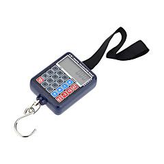 tanie Wagi-50 kg waga cyfrowa przenośne, przenośne, mini-elektroniczne wagi wiszące, kieszonkowe, waga, kalkulator bagażowy