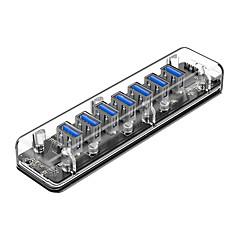billige USB Hubs & Kontakter-ORICO 7 USB Hub USB 3.0 USB 2.0 Indgangsbeskyttelse Data Hub