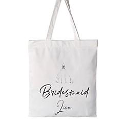 preiswerte Gastgeschenke-Hochzeitsfeier / Firmenkleidung Baumwolle Geschenktaschen Hochzeit - 1 pcs