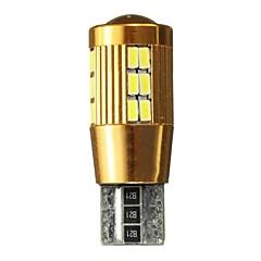 billige Interiørlamper til bil-1 Deler T10 Bil Elpærer 3 W SMD 4701 300 lm 30 LED interiør Lights Til Universell General motors Alle år
