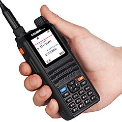 billige Walkie-talkies-ELIDA CPUV2000 Håndholdt / Dobbelt bånd VOX / Stemmekommando / Strømskifter høy / lav 5-10 km 5-10 km 128CH 1500 mAh 5 W Walkie Talkie Toveis radio