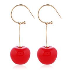 Γυναικεία Φαντασία Κρεμαστά Σκουλαρίκια - Κεράσι Μοντέρνο Γλυκός Κοσμήματα  Κόκκινο   Σκούρο κόκκινο Για Γενέθλια Ημερομηνία Αργίες 1 Pair 620f109784f