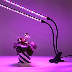 tanie Dekorativní osvětlení-1 szt. 20 W 200 lm 60 Koraliki LED Przygaszanie Trójkolorowy Oprawia oświetleniowa Grow Czerwony Niebieski Fioletowy 110-240 V