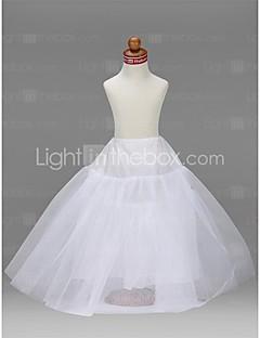 billiga Brudklänningsunderkjol-Bröllop Speciellt Tillfälle Fest / afton Underklänningar Taft Tyll Golvlång A-linjeformad Underkjol/klänning Balklänning Underkjol