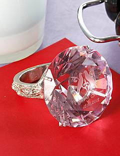 ieftine Figurine de Cristal-personalizate șervețel cristal inel magazin de nunta tema de nunta