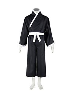 """billige Anime cosplay-Inspirert av Cosplay Cosplay Anime  """"Cosplay-kostymer"""" Cosplay Klær / Japansk Kimono Lapper Langermet Vest / Belte / Kimono Frakke Til Herre / Dame Halloween-kostymer"""