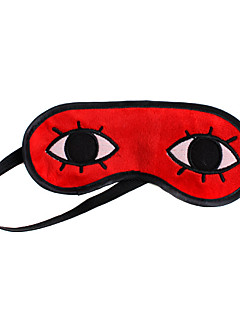 Maske Inspirert av Gintama Okita Sougo Anime Cosplay Tilbehør Maske Rød Terylene Mann