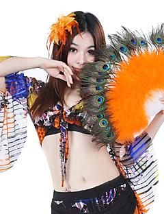billige Karneval Kostumer-dansetilbehør scenen rekvisitter kvinners prestasjon fjær elegant stil