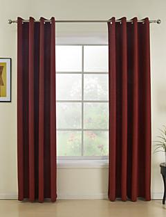 billige Egendefinerte gardiner-Skreddersydd Energisparing gardiner gardiner To paneler 2*(W145cm×L213cm) / Spisestue