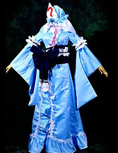 "billige Videospill Kostymer-Inspirert av Touhou Projekt Yuyuko Saigyouji video Spill  ""Cosplay-kostymer"" Cosplay Klær Lapper Topp"