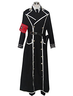 cheap Anime Cosplay-Inspired by Trinity Blood Isaak Fernand Von Kampfer Anime Cosplay Costumes Cosplay Suits Patchwork Long Sleeves Coat Shirt Pants Armlet