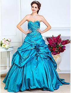 tscouture®のa-line strapless sweetheartフロアレングスtaffeta promドレス