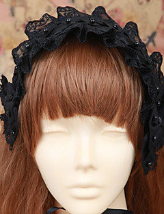 Lolita Jewelry Gothic Lolita Headwear Lolita Lolita Accessories Headpiece Solid For Cotton