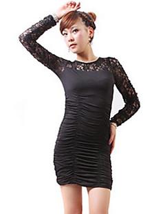 economico Outlet-Per donna sofisticato Attillato Vestito - Con stampe Mini