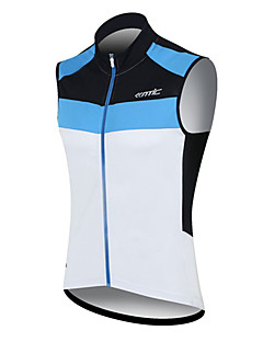 cheap Cycling Vest-SANTIC Cycling Jersey Men's Sleeveless Bike Vest/Gilet Jersey Top Quick Dry Windproof Wearable Breathable Sweat-wicking 100% Polyester