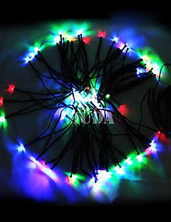 baratos Luzes de presente-22M coloridos 200Led Luzes Cordas Blue Corn Decoração de Natal Fada Luz (cis-57182)