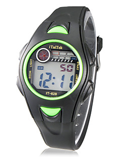 Children's Multi-Function LCD Digital Rubber Band Wrist Watch (Assorted Colors) Cool Watches Unique Watches